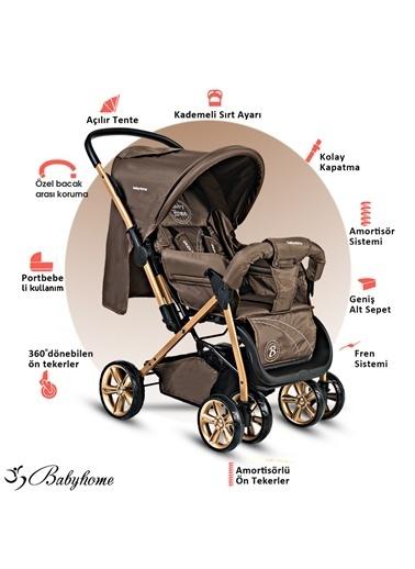 Baby Home Baby Home Bh-655 Pasific Plus Çift Yönlü Bebek Arabası Siyah